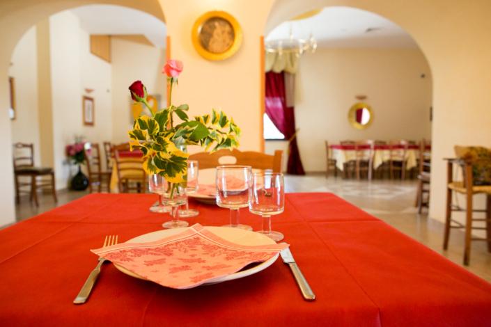 Sala ristorante Agriturismo Regno di Marzagaglia Gioia del Colle