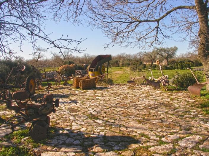 Attrezzi d'epoca della civiltà contadina - Agriturismo Regno di Marzagaglia Gioia del Colle